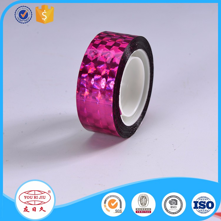 Acrylic Adhesive Gift Packaging Bopp Coloured Tape