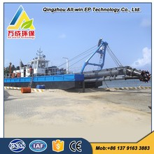 good quality low price all-hydraulic 14 Inch river sand Cutter Suction Dredger