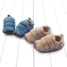 Wholesale boutique Scrub infant toddler boy spanish baby shoes