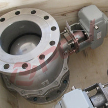 best price 1 1/4inch Electric flanged ball valves dc12v in shanghai