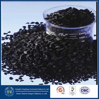 Coal based activated carbon for air purification, granular activated carbon