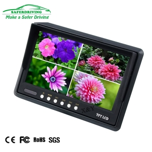 7 inch quad splitter Four images display car monitor XY-2085Q