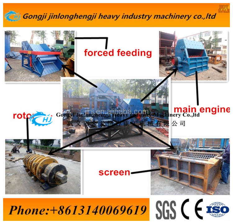 Scrap Car Crusher Machine/Waste Metal Crushing and Recycling Machine