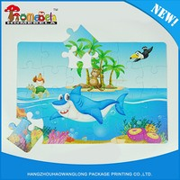 Interesting Game Paper Jigsaw Puzzle For Children
