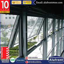 Australian standard AS2047 aluminum awning windows for commercial projects