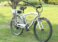 26 inch specialized hot sale colorful frame beach cruiser electric bike