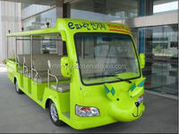 Lovely animal shape 19 seat cheap children tourist bus electric kids car for sale