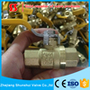 SS2060 206 Brass Full Port Ball Valve
