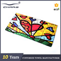 Professional printed hot anti slip microfiber custom yoga towels,yoga towel for mat