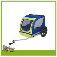 high demand pet products mini folding dog bicycle bike trailer