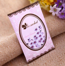 Scented Natural Vermiculite Paper Sachet With Lavender/Rose/Ocean Scents
