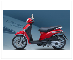 Motorcycle Pi-aggio Liberty S New Model 125cc