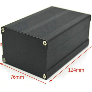 Aluminum extruded box custom aluminum extrusion housing PCB Case for electronic equipments