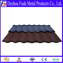 Color Coated Metal Roof Tile Cheap Colorful Corrugated Steel Color Shingle Stone Coated Roofing Sheets Tile