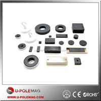 Ring/Block/Disc/Cup Shaped Magnet Zn Coating Ferrite Magnet