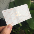 High end Custom high quality private business cards