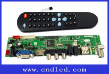 On-Sale HDVX9-AS-5S LED LCD TV Board + IR receiver + Remote control