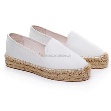 Wholesale Fashion Handmade Espadrille Jute Shoes