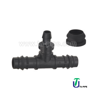 PP Offtake with Rubber for PE-PVC Pipe DIN (Irrigation)/PP Rubber