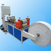 automatic folding Facial tissue/ napkin paper making manufacturing machine with embossing