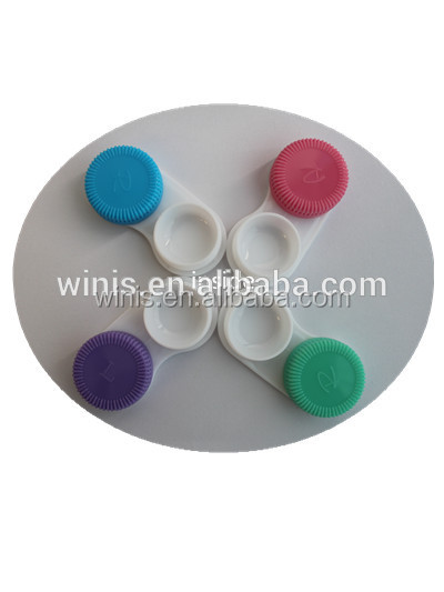 colorful case for contact lenses contact lens containers