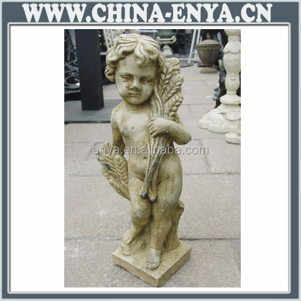 Quality OEM small angel figurines