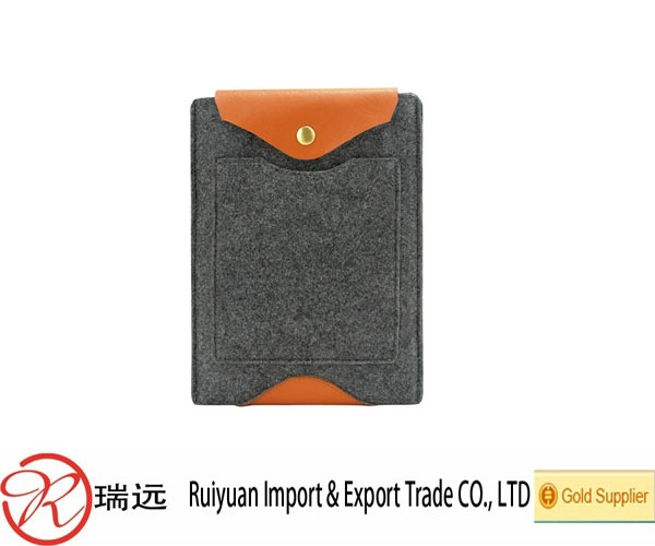 2015 New design flexible felt laptop bag with Competitive price
