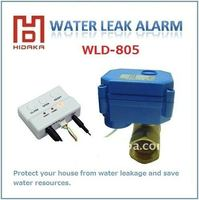 wired water leakage detection for smart home automation shut off system