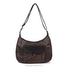 New style 2016 European fashion women bags alligator PU leather tote hand bags high quality