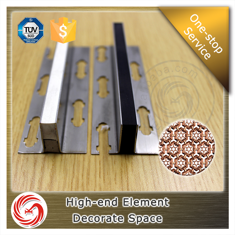KSL durable stainless steel metal expansion joints for concrete