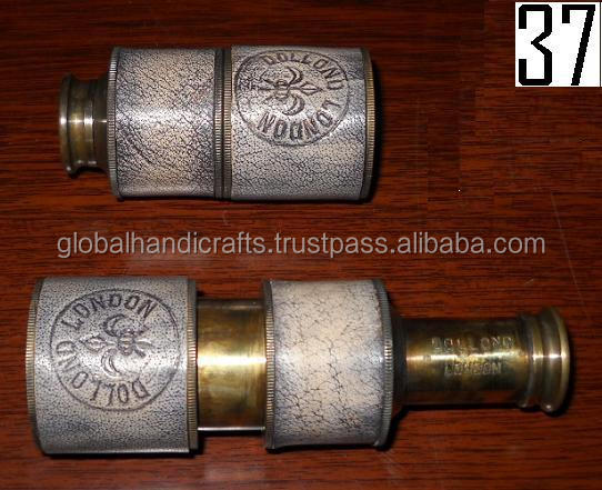 Antique pocket telescope 4 inches