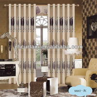 100% polyester drapes and elegant curtain 2013
