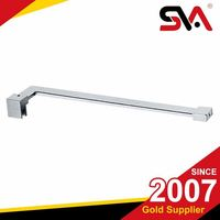 Frameless Stainless steel Fixed Panel Shower Door Stabilizer Support Bars
