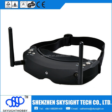 Lattest Google Glasses FPV 5.8G 32CH Diversity Receiver Wireless Head Tracing FPV GOGGLE/Video Glasses Compatible with walkera