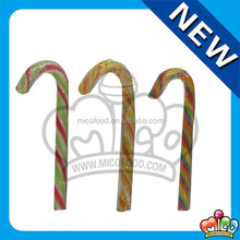Mico swirl cane shaped hard candy