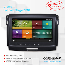 Cartouch 9 inch screen universal double din wince car dvd car audio for Ford Ranger 2016
