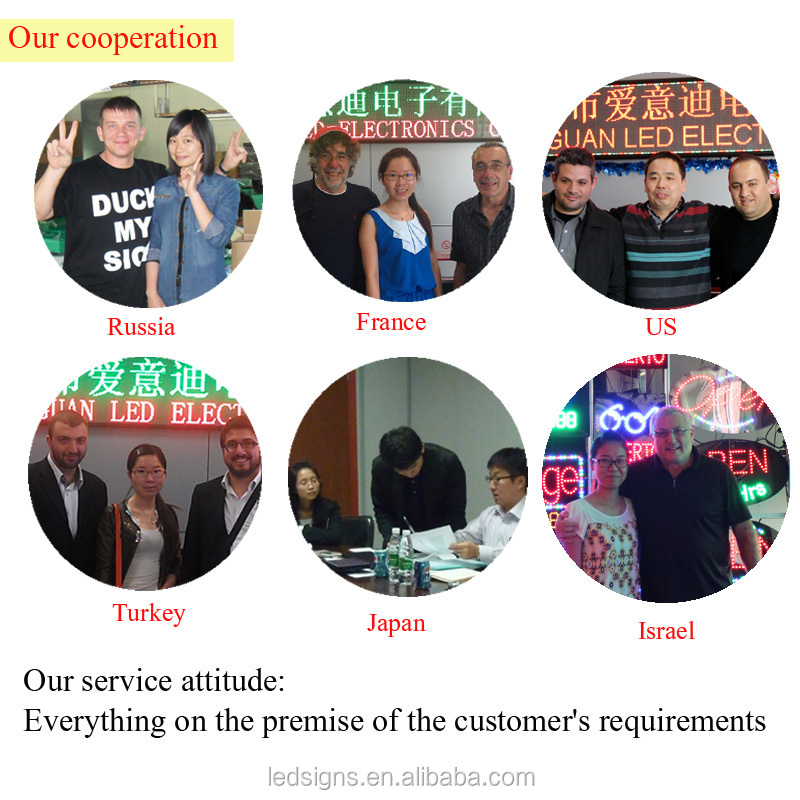 Sales champion of alibaba VIP for 10 years 3 functions12*24inch for POKIES AD led sign