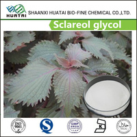 Essential perfume natural aromatics sclareol glycol 98% powder