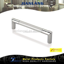 Modern Zhaoqing factory manufacture Household cabinet hardware chrome metal furniture handle
