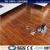 8mm click waterproof click lock vinyl flooring for European American unilin click vinyl flooring commercial pvc roll flooring