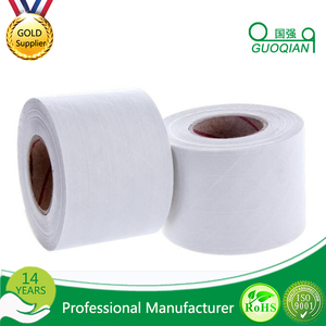 Promotional White Colored Wet Adhesive Reinforced Kraft Packing Tape