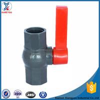 New 1.5 inch pvc ball valve with long handle
