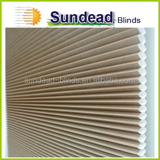 new invention 2016 Cordless blinds cellular curtain blinds patent products china supplier