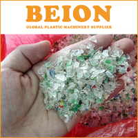 BEION used and waste Plastic Bottle Flakes Washing Recycing Line