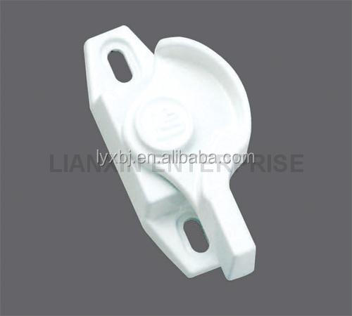 High-security new type white sliding window sash lock&white window wedge (Super Stopper for Windows )