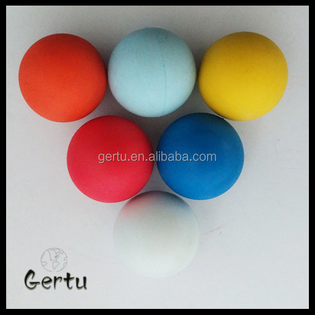 100mm solid rubber bouncing ball