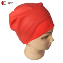 High quality spandex silicone swimming caps Hot Selling Professional Silicone Swim Cap waterproof