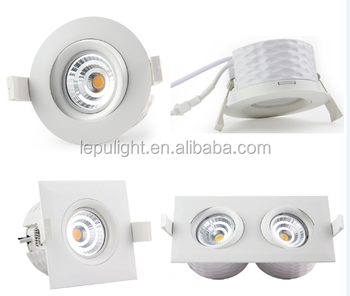 High quality Norge Led light downlight ip44 9w cutout 83mm 5 years warranty