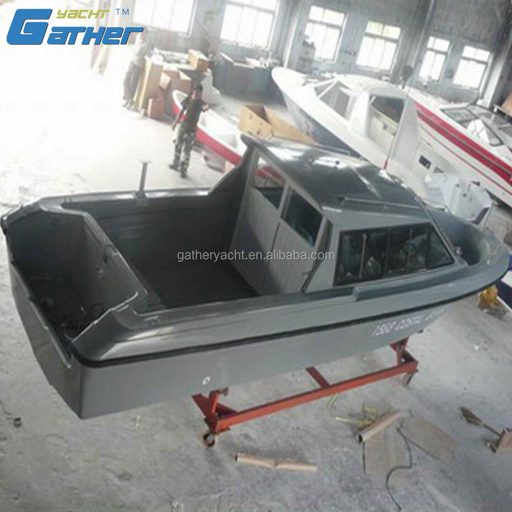 Gather China manufacture hot sale Used Fiberglass passenger Boat
