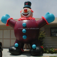 2013 hot sale inflatable PVC clown model for advertising